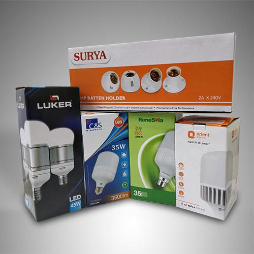 LED Bulb Packaging Boxes, Custom LED Boxes Manufacturer