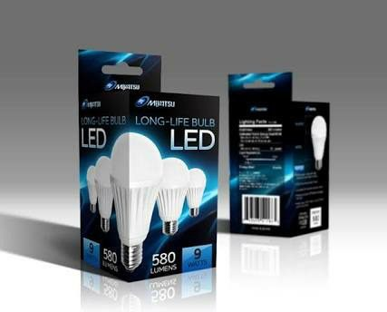 Bulb Packaging Boxes, Printed Carton Box