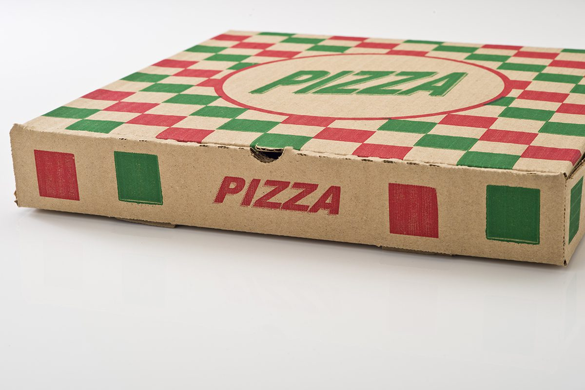 Custom Printed Pizza Box