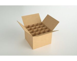 Beverages Corrugated Partition Interlock Box